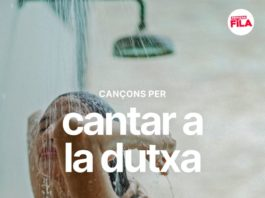 10 cançons per cantar a la dutxa